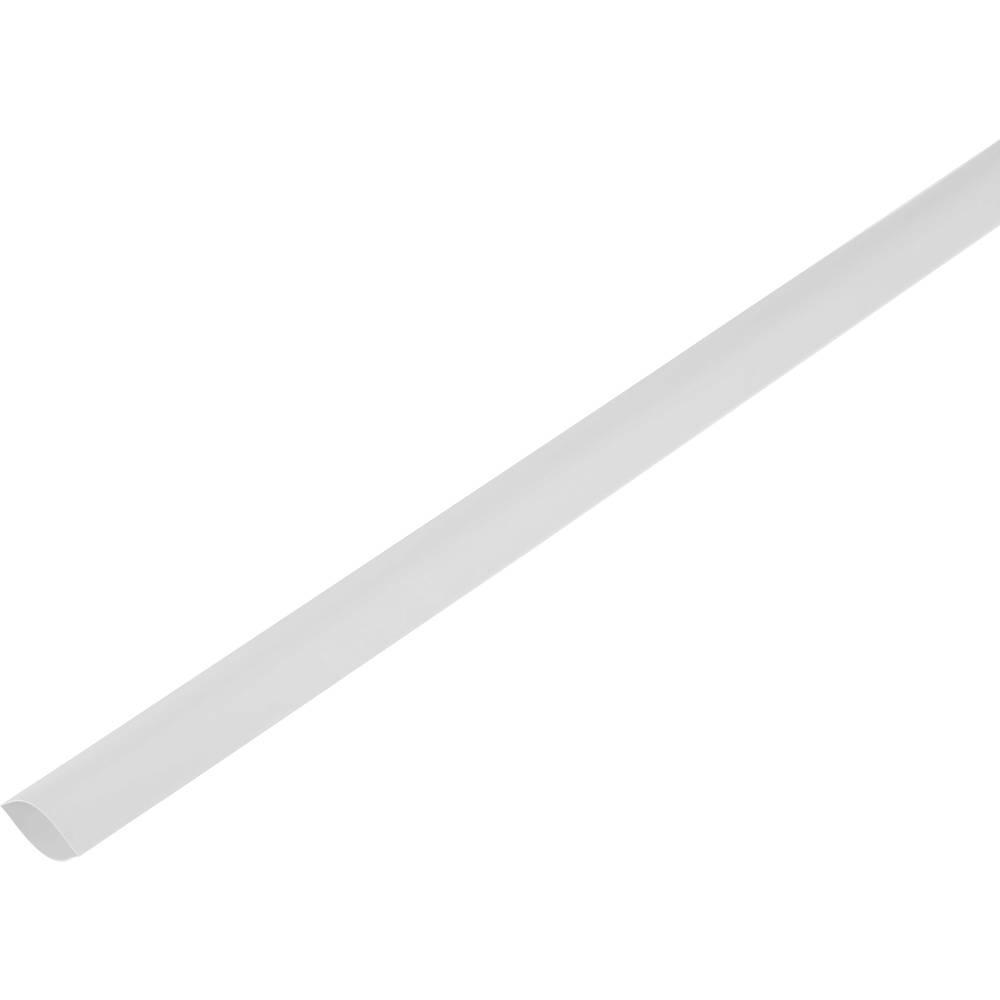 Skrčljiva cev, tankostenska pred/po krčenju: 100 mm/50 mm razmerje 2 : 1 bela