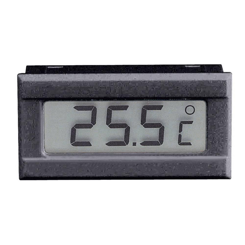 VOLTCRAFT TM-50 LCD modul za temperaturu TM-50 0 do +50 °C dimenzije za ugradnju 48 x 24 mm