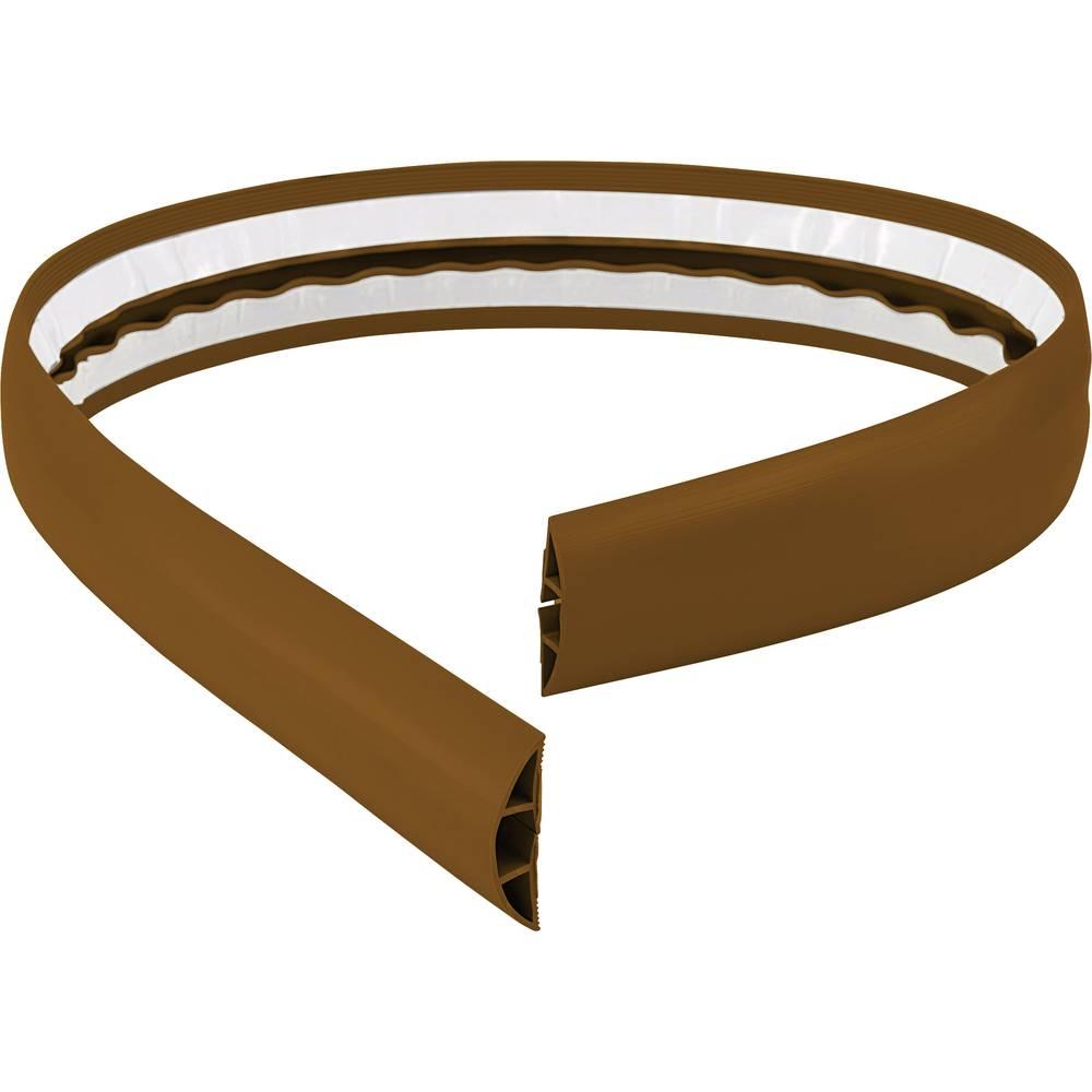 Talna zaščita za kable 1,8 m (D x Š) 1800 mm x 50.8 mm rjava Conrad vsebina: 1 kos