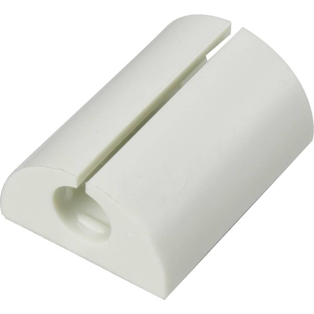 Sponka za kable za kotno pritrditev bele barve 1226944 1 kos