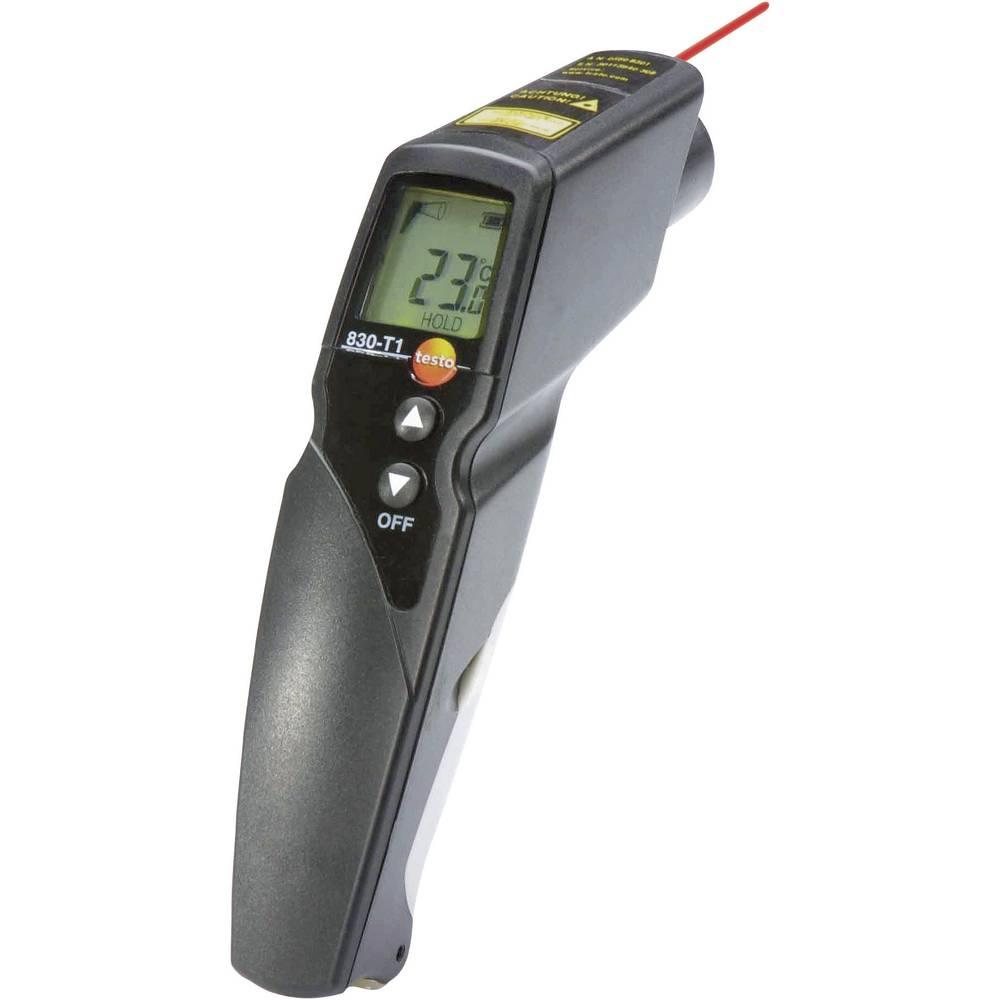 Infrardeči termometer testo 830-T1 optika 10:1 -30 do +400 °C kalibracija narejena po: ISO