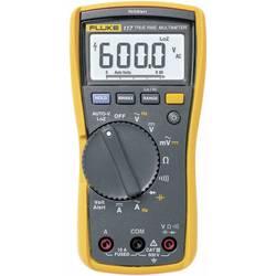 Kal. ISO Ročni multimeter digitalni Fluke 117 kalibracija narejena po: ISO CAT III 600 V število mest na zaslonu: 6000