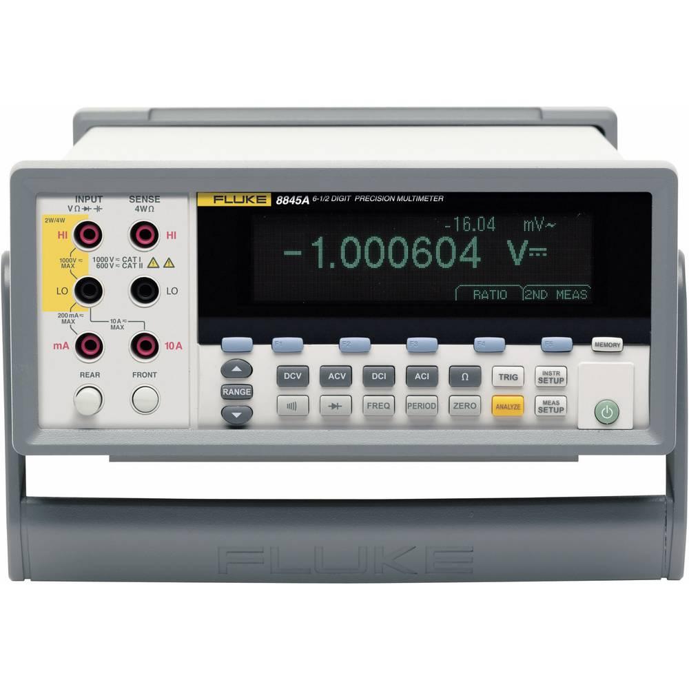Namizni multimeter, digitalni Fluke 8845A kalibracija narejena po: delovnih standardih, CAT II 600 V število znakov na zaslonu: