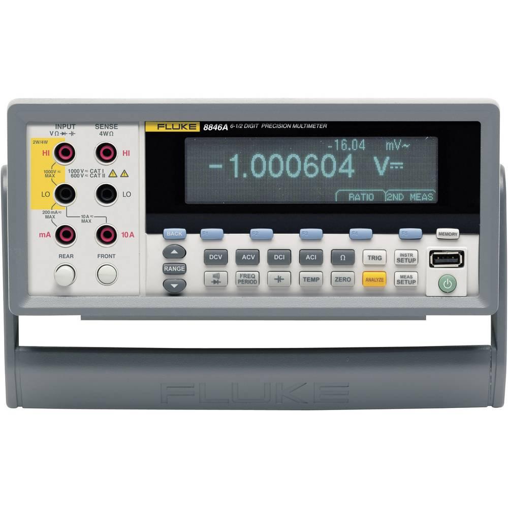 Namizni multimeter, digitalni Fluke 8846A kalibracija narejena po: delovnih standardih, CAT II 600 V število znakov na zaslonu: