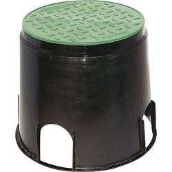 Podna ugradbena kutija 168/200 mm crna, zelena Heitronic 21036