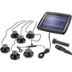 Solarni podvodni LED-reflektorji Esotec Super Splash, hladna bela svetloba, črna