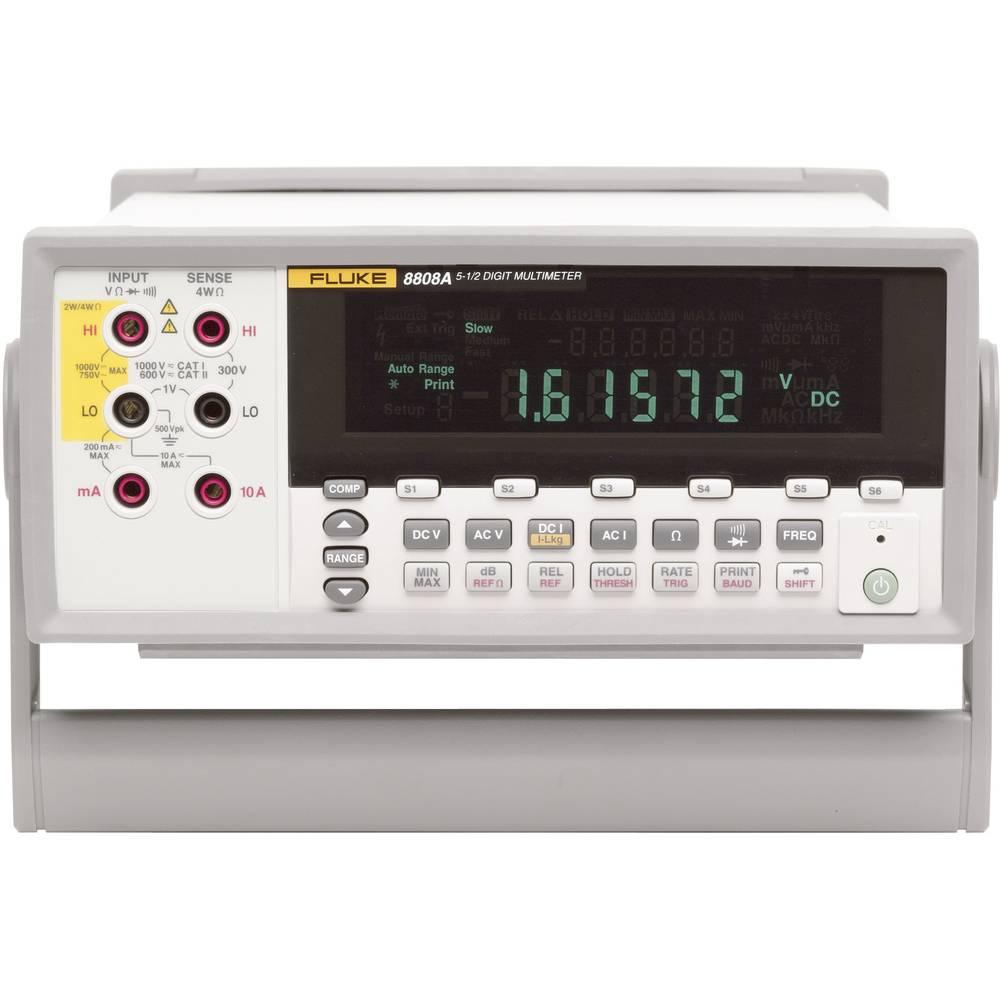 Namizni multimeter, digitalni Fluke 8808A kalibracija narejena po: delovnih standardih, CAT II 600 V število znakov na zaslonu: