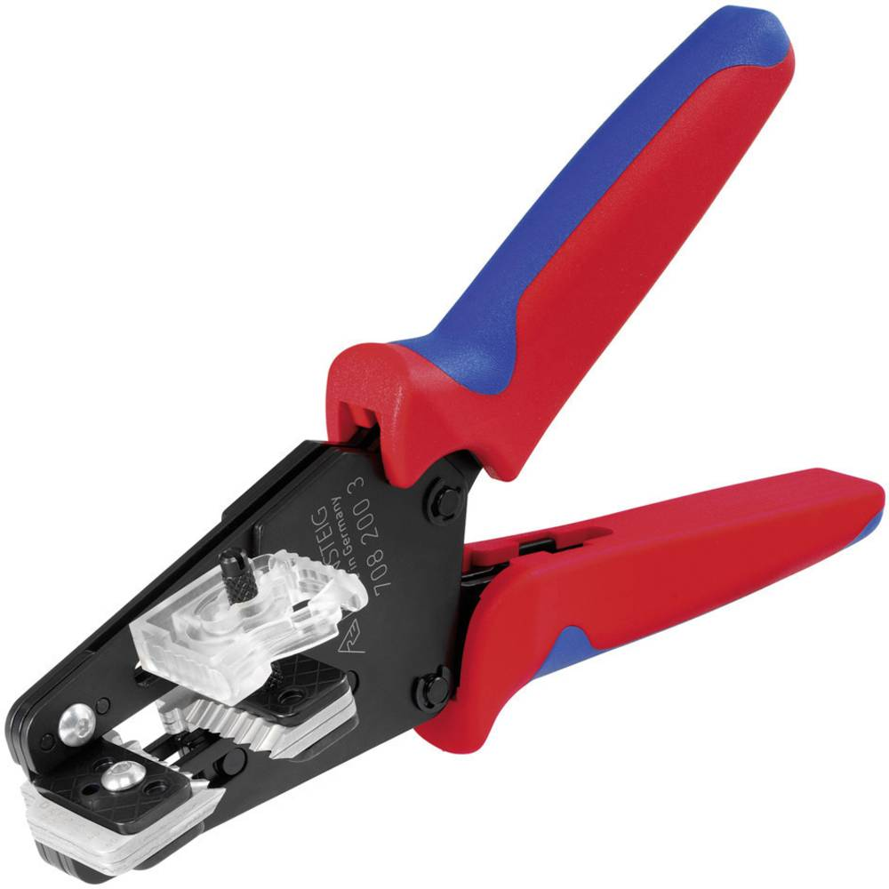 Kliješta za skidanje izolacije, pogodna za DIN-pletenice 0.14 do 6 mm Rennsteig Werkzeuge 708 205 3