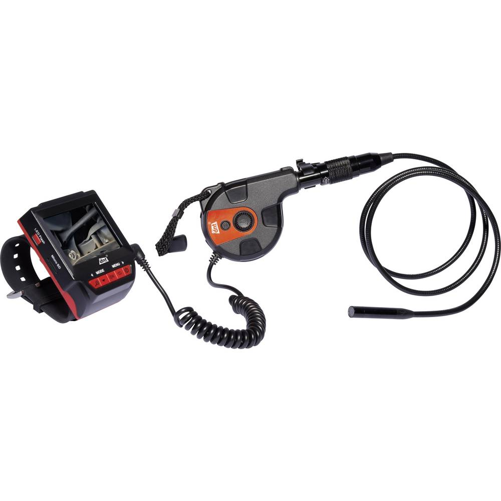 Endoskop dnt 52160 premer sonde-: 8.5 mm dolžina sonde: 80 cm fokus SD-reža za kartice, rotacija slik, z monitorjem, digitalni z