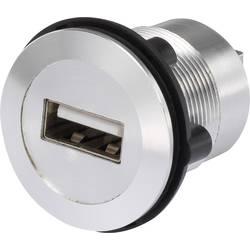USB-vgradna vtičnica 2.0 vgradna vtičnica USB-02 USB-vtičnica tip A na USB-vtičnica tip B TRU Components vsebina: 1 kos