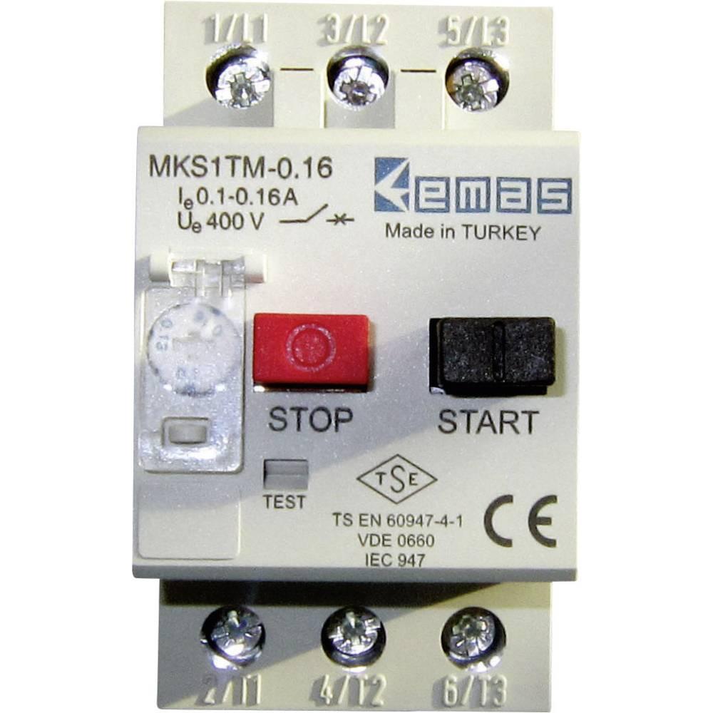 Stikalo za zaščito motorja 400 V/AC 0.16 A EMAS MKS1TM-0.16 1 kos