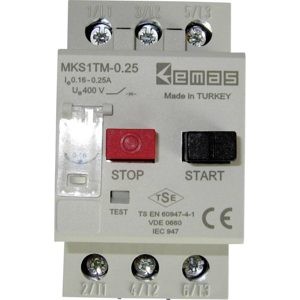 Stikalo za zaščito motorja 400 V/AC 0.25 A EMAS MKS1TM-0.25 1 kos