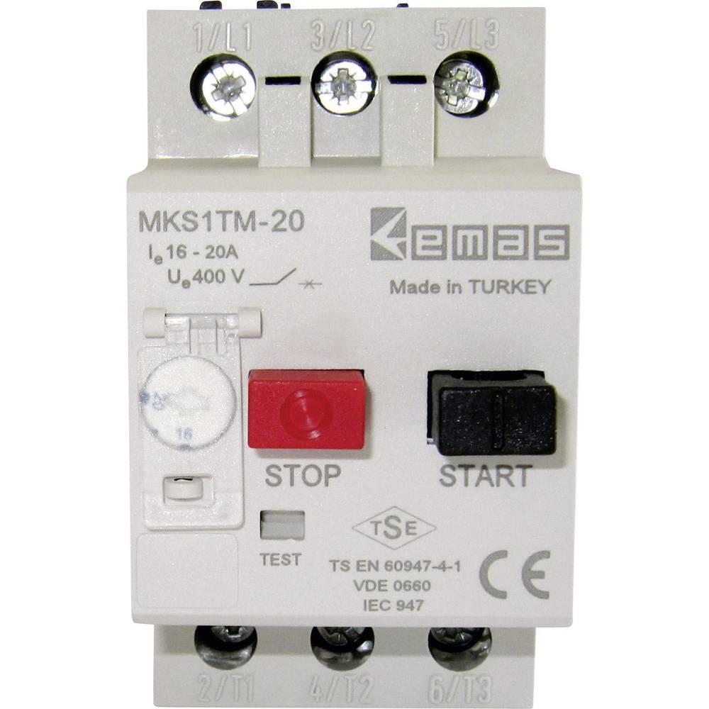 Stikalo za zaščito motorja 400 V/AC 20.0 A EMAS MKS1TM-20 1 kos
