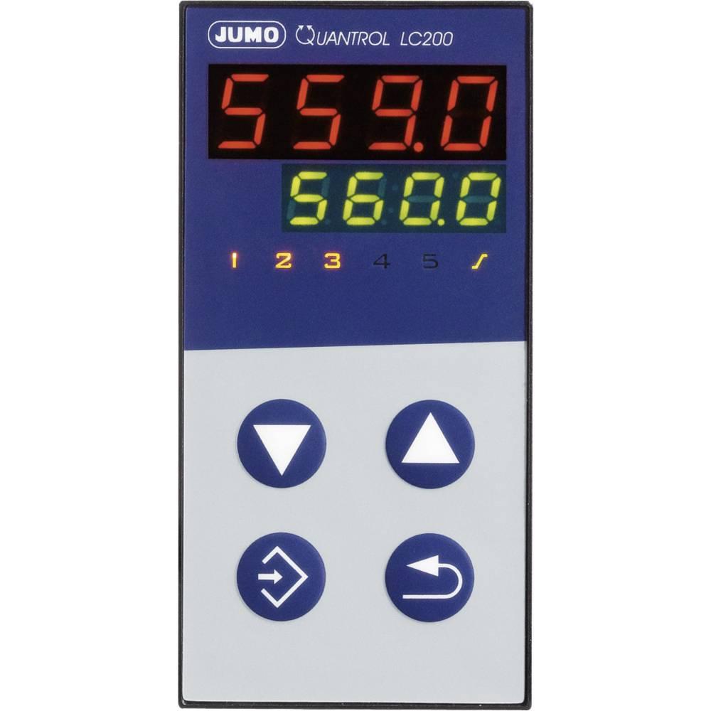 Jumo Quantrol LC100 599641 20 - 30 V/ AC/DC izhodi 1 relejni izhod, vgradne mere 48 mm x 48 mm, vgradna globina 96 mm
