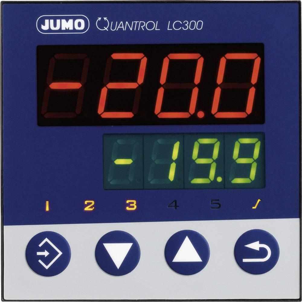 Jumo Quantrol LC300 605310 110 - 240 V/AC izhodi 1 relejni izhod, vgradne mere 96 mm x 96 mm, vgradna globina 80 mm