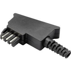 TAE komplet Kutni muški konektor GM02F Crna TRU COMPONENTS Sadržaj: 1 ST