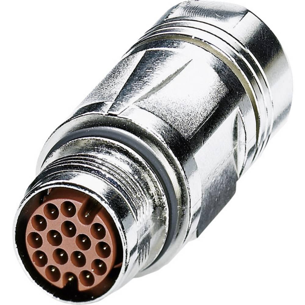 M17-kobling stik Phoenix Contact ST-17P1N8A9004S Sølv 1 stk