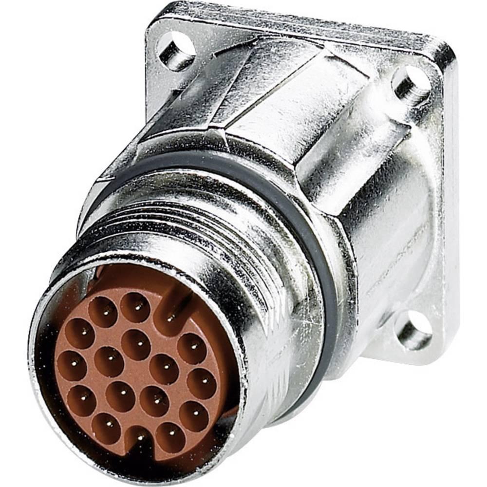 M17 Kompaktni konektor za naprave, montaža na sprednji steni ST-17P1N8AW400S srebrna Phoenix Contact vsebina: 1 kos