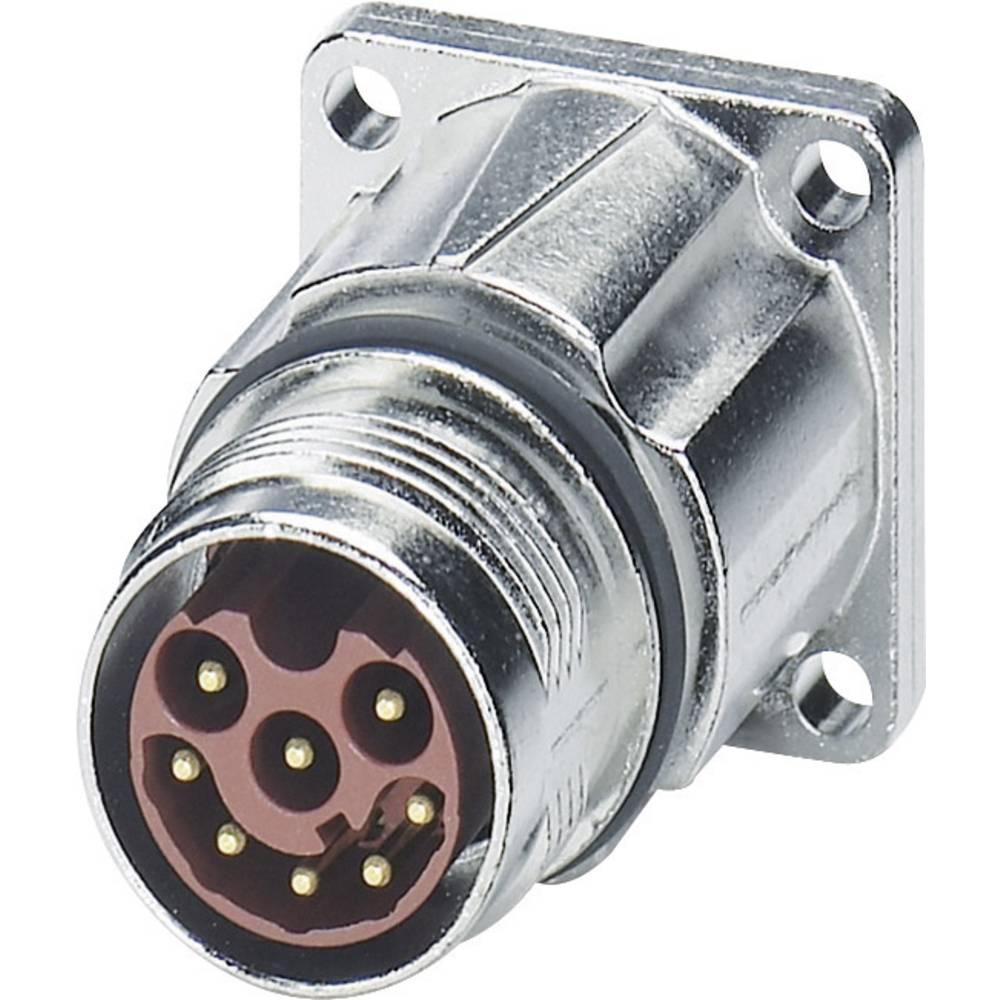M17 Kompaktni konektor za naprave, montaža na sprednji steni ST-08P1N8AWQ00S srebrna Phoenix Contact vsebina: 1 kos