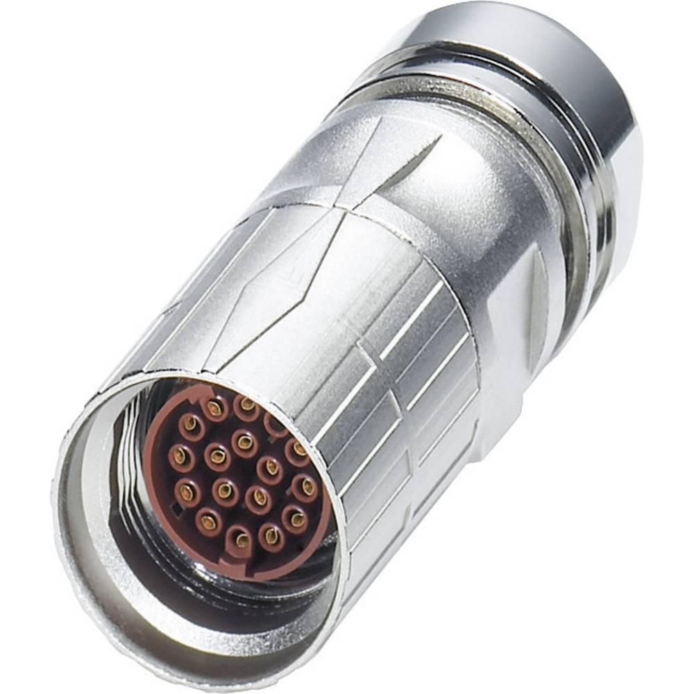 M17 Kabelski vtični konektor ST-17S1N8A8003S srebrna Phoenix Contact vsebina: 1 kos