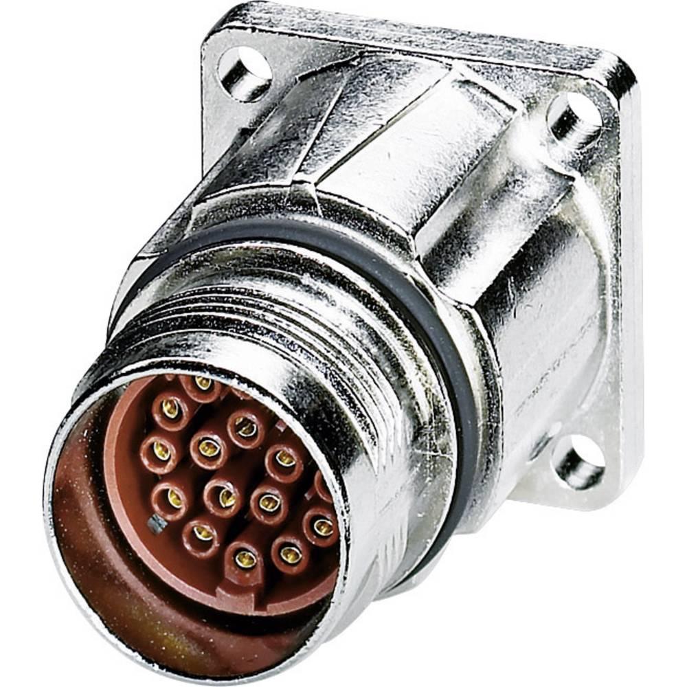 M17 Kompaktni konektor za naprave, montaža na sprednji steni ST-17S1N8AW400S srebrna Phoenix Contact vsebina: 1 kos