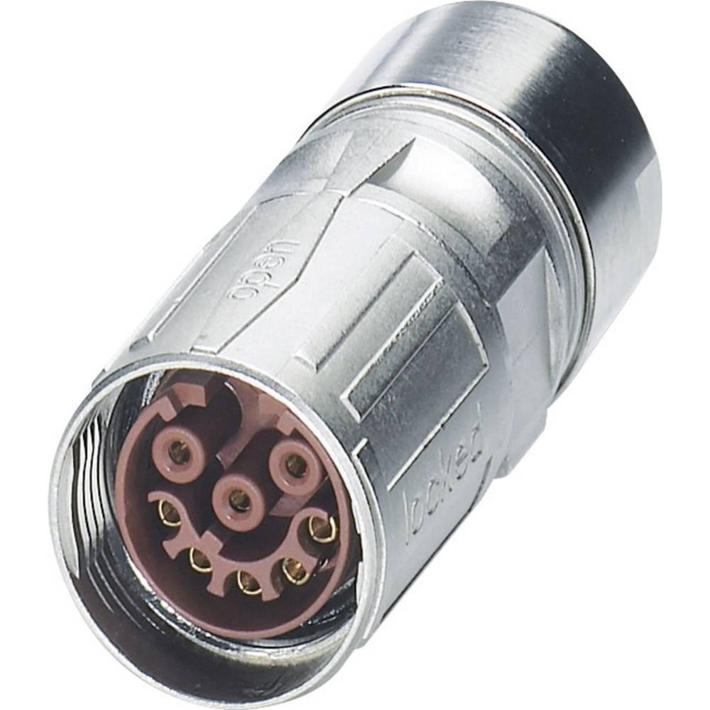 M17 Kompakte kabelstik Phoenix Contact ST-17S1N8A8K02S Sølv 1 stk