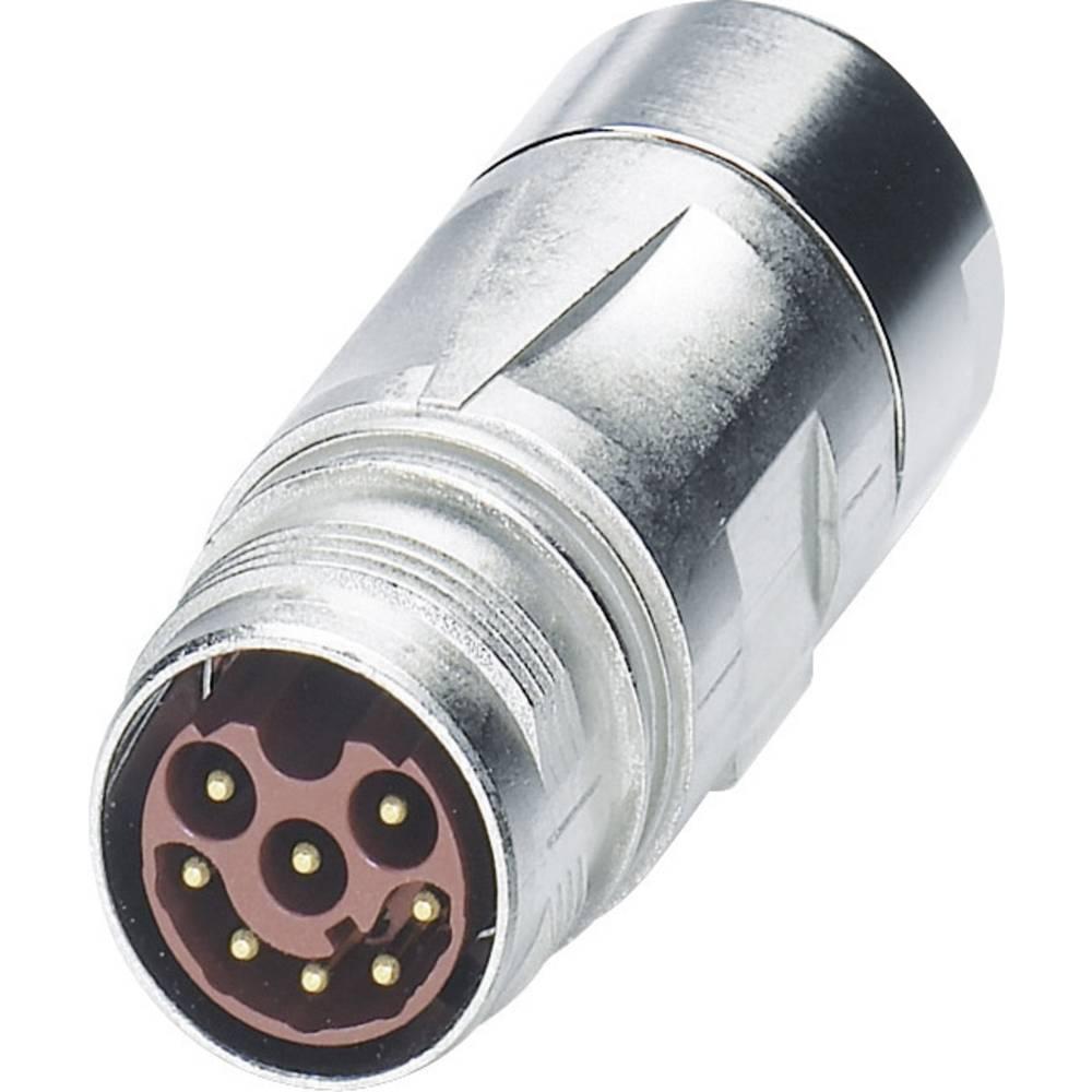 M17 Compact kobling stik Phoenix Contact ST-08P1N8A9K03S Sølv 1 stk