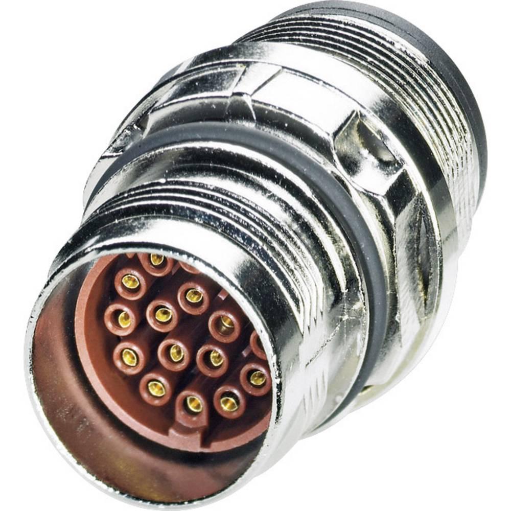 M17 Konektor za naprave centralni montažni navoj ST-17S1N8A6100S srebrna Phoenix Contact vsebina: 1 kos