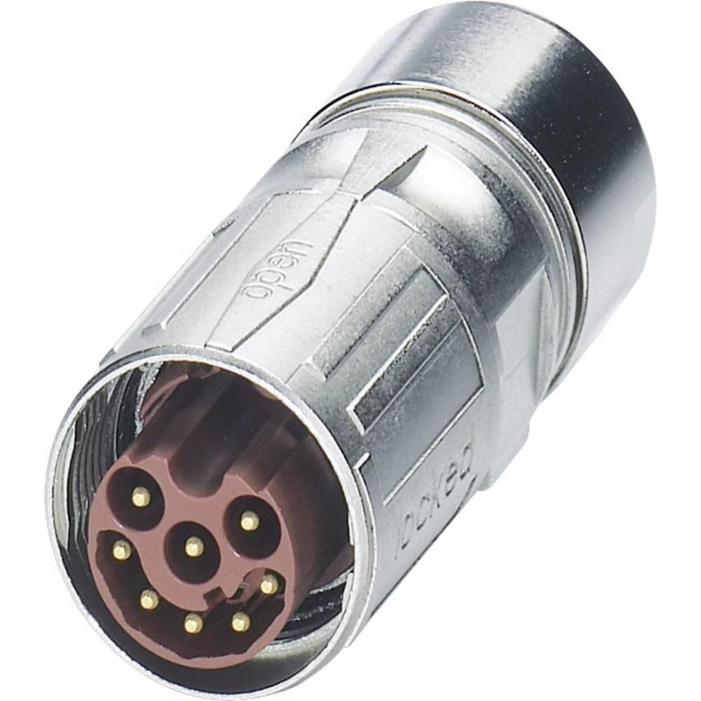 M17 Kompaktni kabelski vtični konektor ST-17P1N8A8K02S srebrna Phoenix Contact vsebina: 1 kos