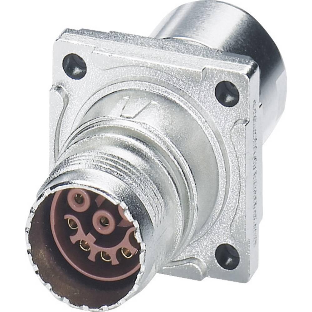 M17 Kompaktni konektor, montaža v notranjost stene ST-08S1N8ACK02S srebrna Phoenix Contact vsebina: 1 kos