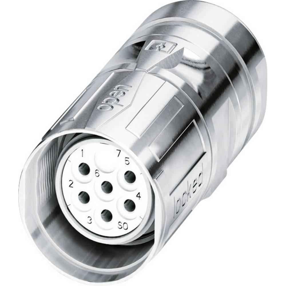 M23 Kabelski vtični konektor CA-06S1N8A80DNS srebrna Phoenix Contact vsebina: 1 kos