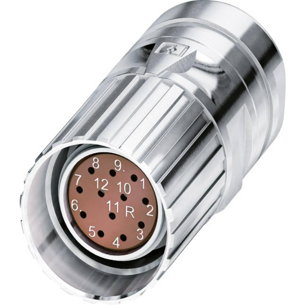 M23 feedback-stik Phoenix Contact CA-12F2N8A8504 Sølv 1 stk