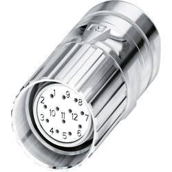 M23-kabelstik Phoenix Contact CA-12S1N8A80DN Sølv 1 stk