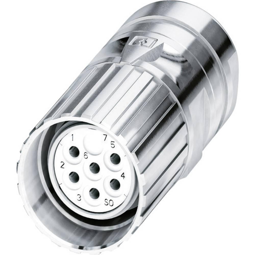 M23-kabelstik Phoenix Contact CA-06S1N8A80DN Sølv 1 stk