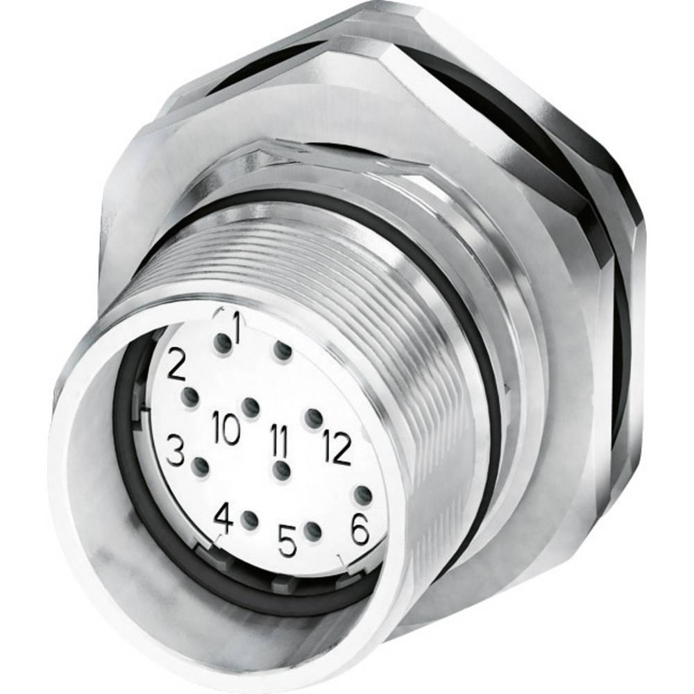 M23 Konektor za naprave, pritrditev na zadnjo steno CA-17S1N8AHZ00 srebrna Phoenix Contact vsebina: 1 kos