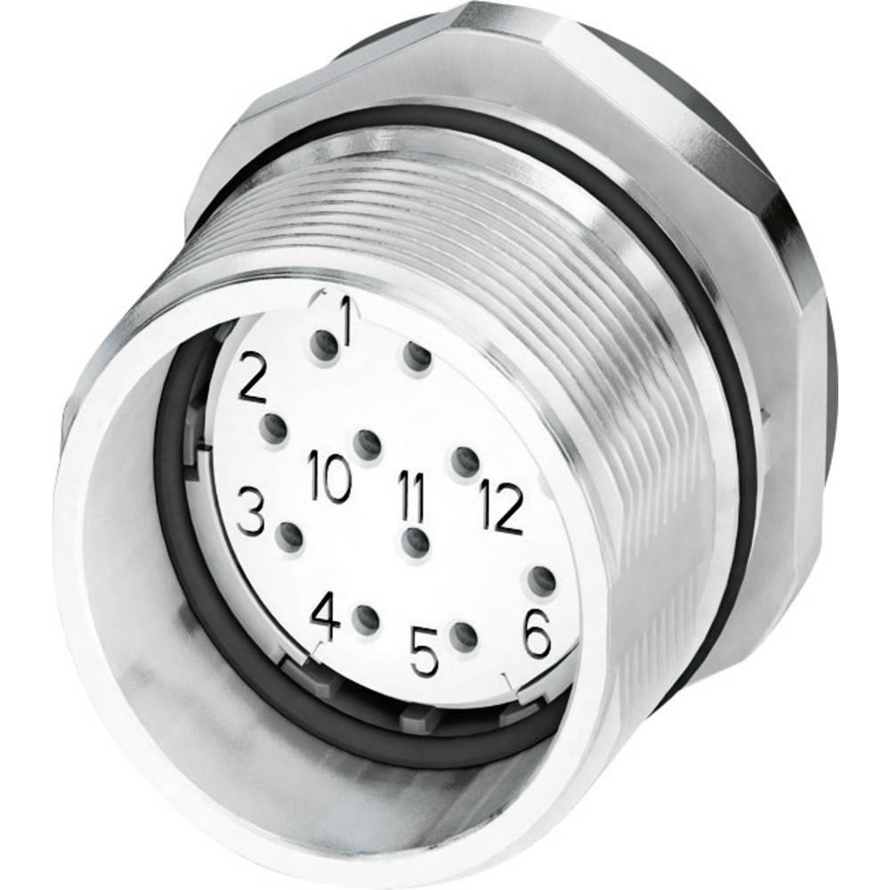 M23 Konektor za naprave CA-12S1N8A6Y00 srebrna Phoenix Contact vsebina: 1 kos