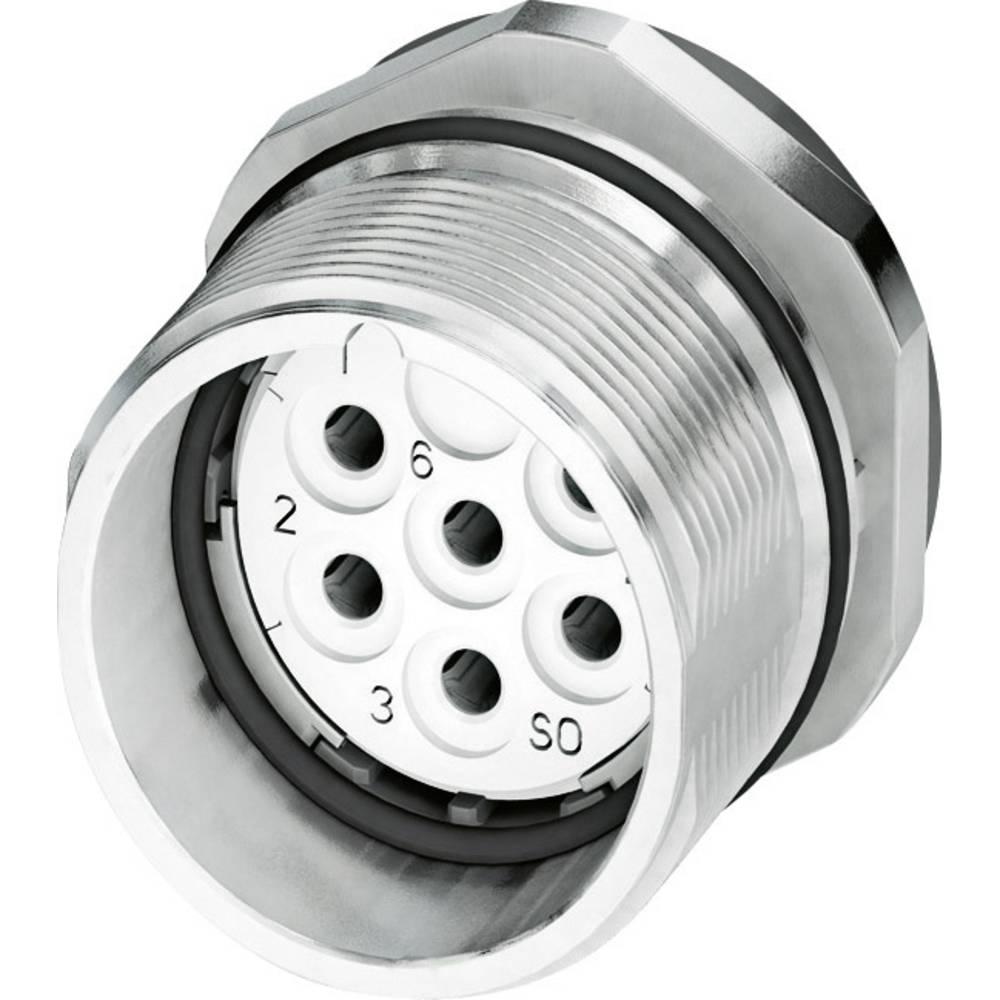 M23 Konektor za naprave CA-07S1N8A6Y00 srebrna Phoenix Contact vsebina: 1 kos