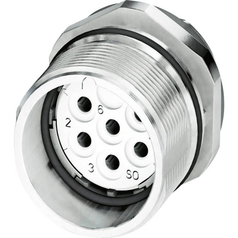 M23 Konektor za naprave CA-06S1N8A6Z00 srebrna Phoenix Contact vsebina: 1 kos
