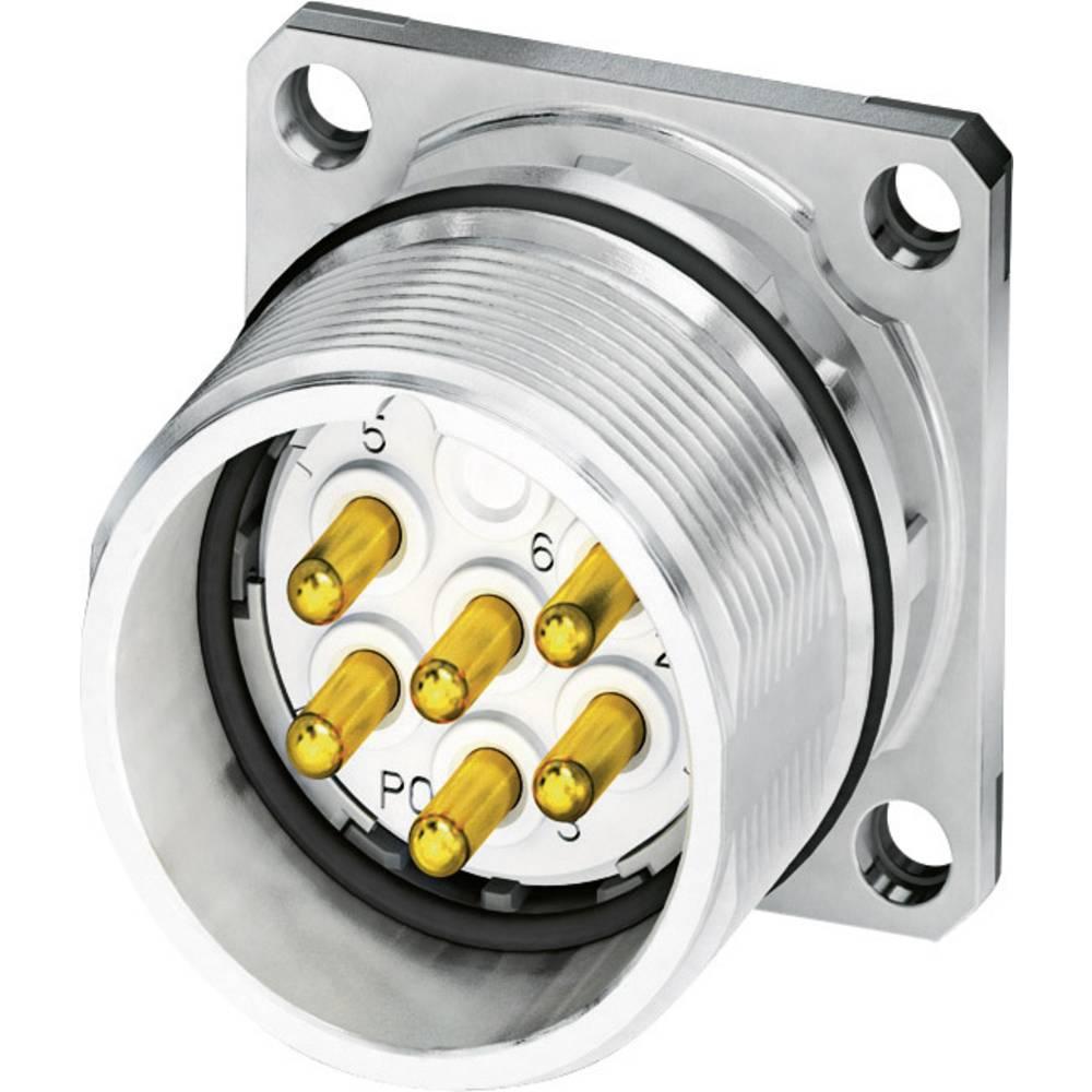 M23 Konektor za naprave, pritrditev s prirobnico CA-07P1N8A2S00 srebrna Phoenix Contact vsebina: 1 kos