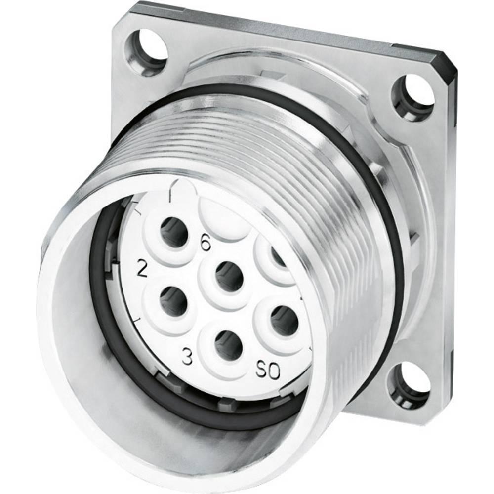 M23 Konektor za naprave, pritrditev s prirobnico CA-07S1N8A2S00 srebrna Phoenix Contact vsebina: 1 kos