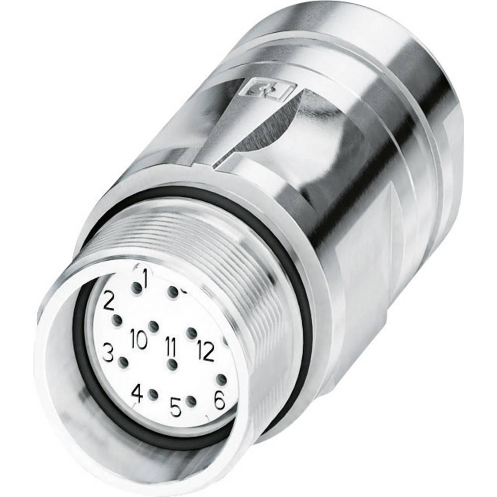 M23-kobling stik Phoenix Contact CA-12S1N8A9006 Sølv 1 stk