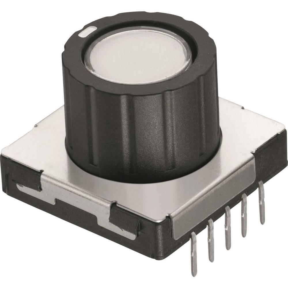 Okretni prekidač 12 V/DC 0.1 A broj položaja prekidača 8 Würth Elektronik WS-RPTL 481RV12172100 1 kom.