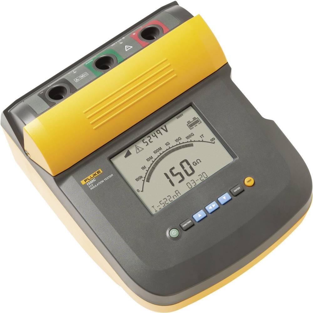 Kal. ISO Fluke 1550C/komplet izolacijska merilna naprava, 250 V - 5 kV CAT III 1000 V, CAT IV 600 V - ISO kalibracija