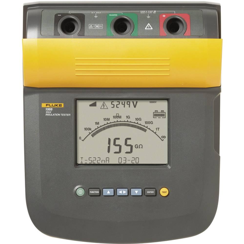 Kal. ISO Fluke 1555/komplet izolacijska merilna naprava, 250 V - 10 kV CAT III 1000 V, CAT IV 600 V - ISO kalibracija