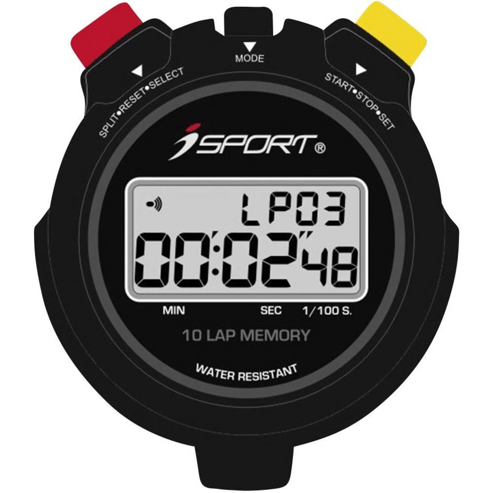 Digitalna štoperica JG021 iSport Pro crna