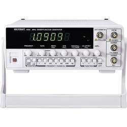 VOLTCRAFT 8202 Funktionsgenerator nätdriven 0,02Hz–2 MHz 1 kanal (ej certifierad kalibrering)