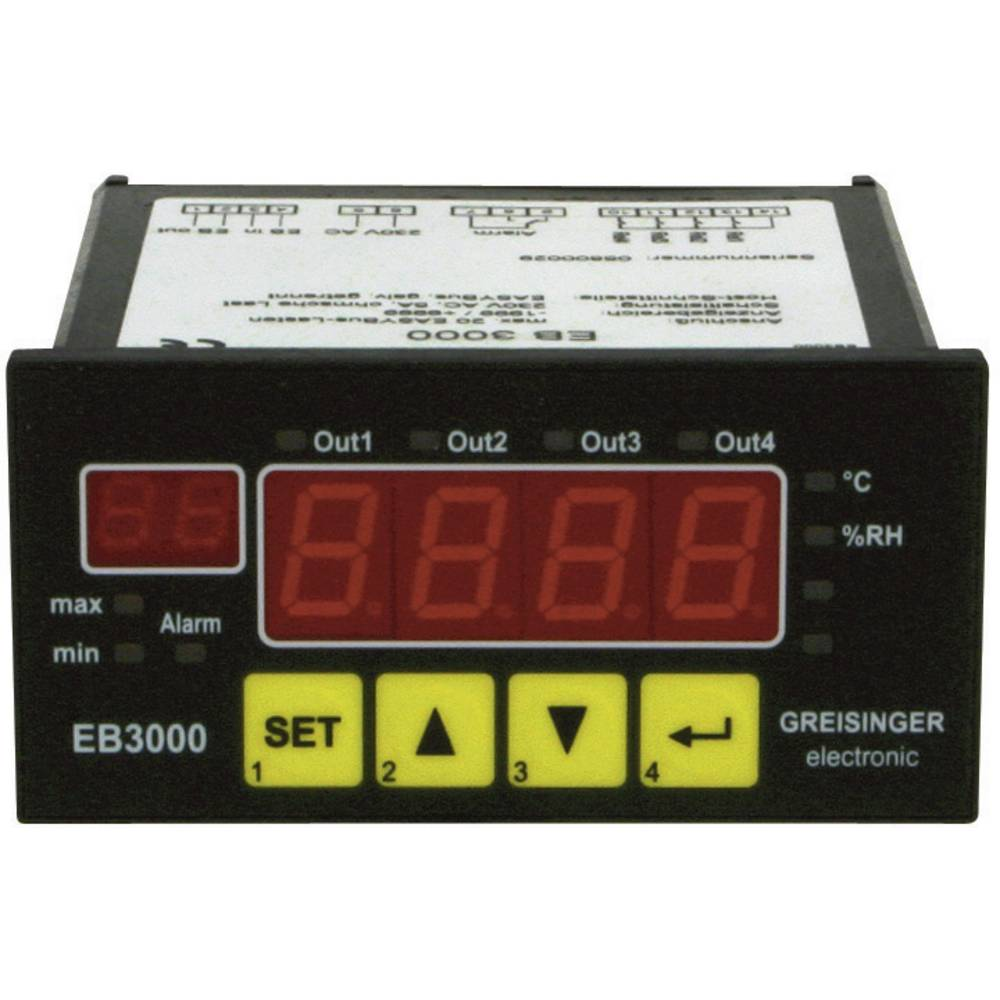 Greisinger EB 3000 Uređaj za prikazivanje, reguliranje i nadzor EB 3000 603291