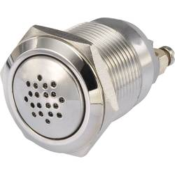 Alarm (value.1782094) Støjudvikling: 85 dB Spænding: 12 V Intervallyd (value.1730256) TRU COMPONENTS 1231435 1 stk