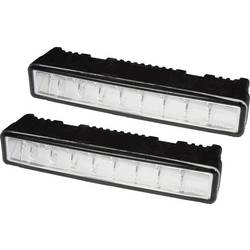 Kørelys; LED (B x H x T) 125 x 23 x 31 mm Philips 39170145 Daylight9