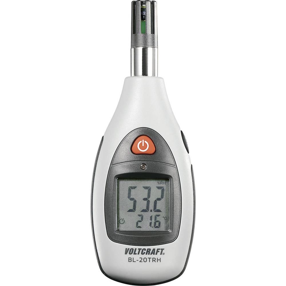 Merilnik vlažnosti zraka (higrometer) VOLTCRAFT BL-20 TRH 0 % rF 100 % rF kalibracija narejena po: delovnih standardih